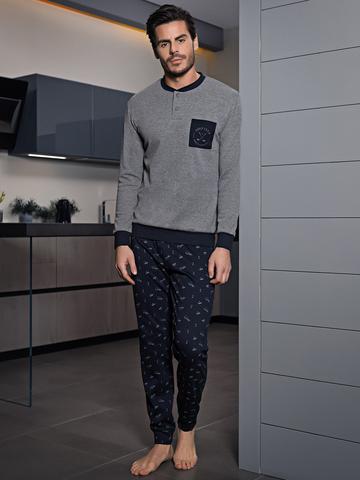 Мужская пижама EP 6072 Pigiama Enrico Coveri