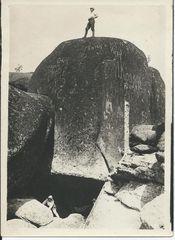 """В.К. Воробьев """"4-ый столб. Заповедник """"Столбы"""" , 1933 г."""