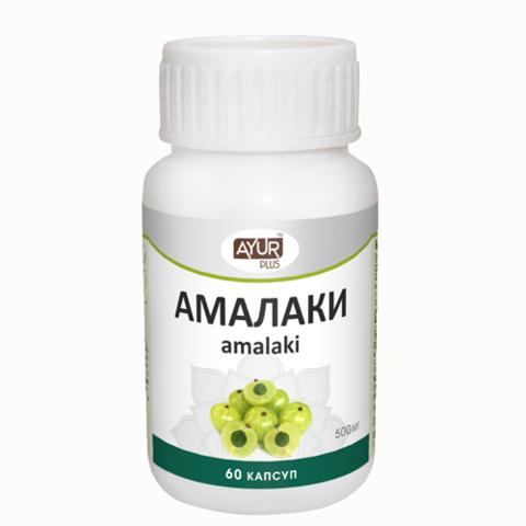 Амалаки Аюр Плюс, 500 мг, 60 капсул