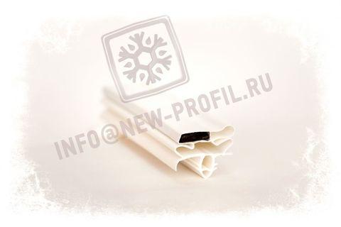 Уплотнительный профиль_010 (тип МР) для холодильного оборудования.