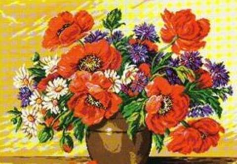 G-209 Ваза с летними цветами