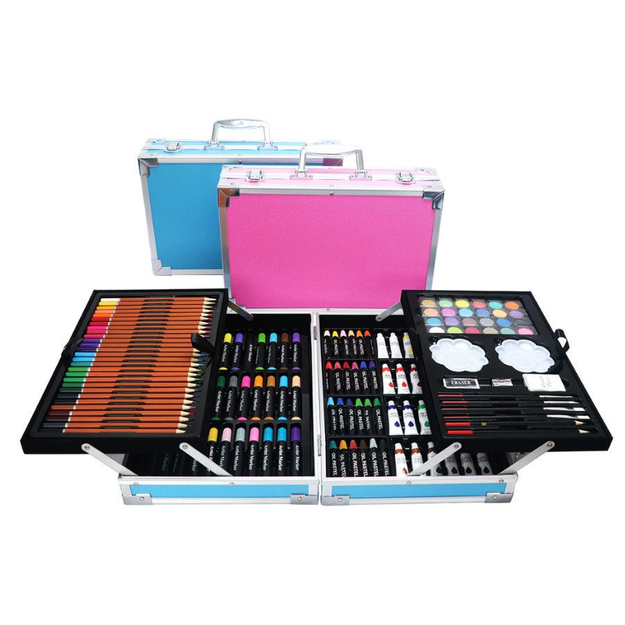 Художественные наборы Набор для рисования в чемоданчике 145 предметов 145-predmetov.jpg