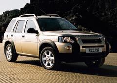 Защита передних фар прозрачная Land Rover Freelander 2004- (221100)