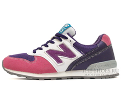 Кроссовки Женские New Balance 996 Pink White Purple