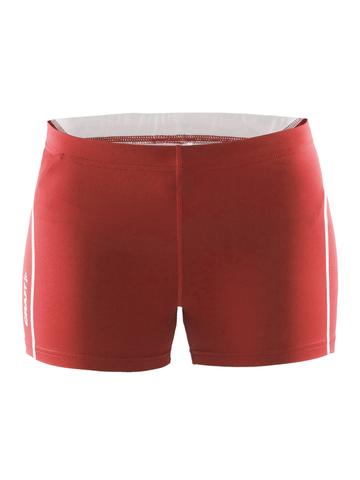 Шорты Craft Track and Field Hot Pants женские Red