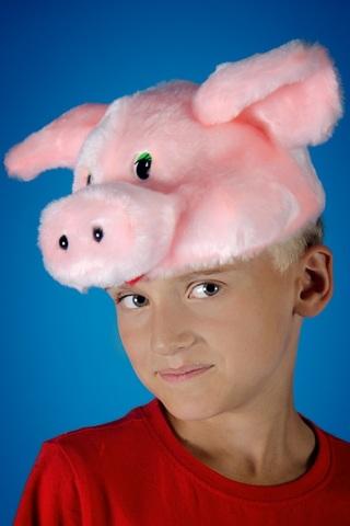 Карнавальная шапочка Поросёнок