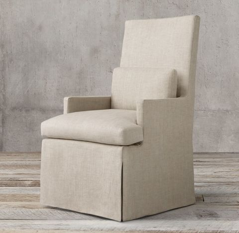 Luxe Track Arm Upholstered Armchair