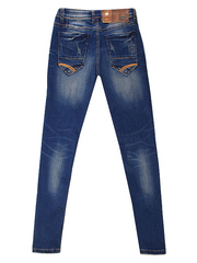 1-1089 джинсы мужские, синие