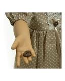 Платье хлопок с кружевом - Детали. Одежда для кукол, пупсов и мягких игрушек.