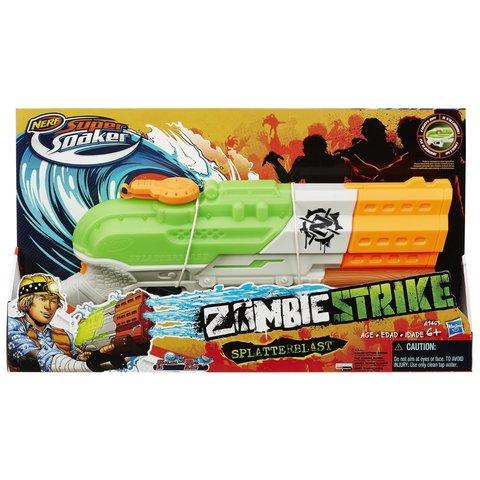Hasbro: Nerf Водяной бластер Nerf Zombie Strike Splatterblast A9463  — Nerf Zombie Strike Splatterblast — Нерф Нёрф Хасбро