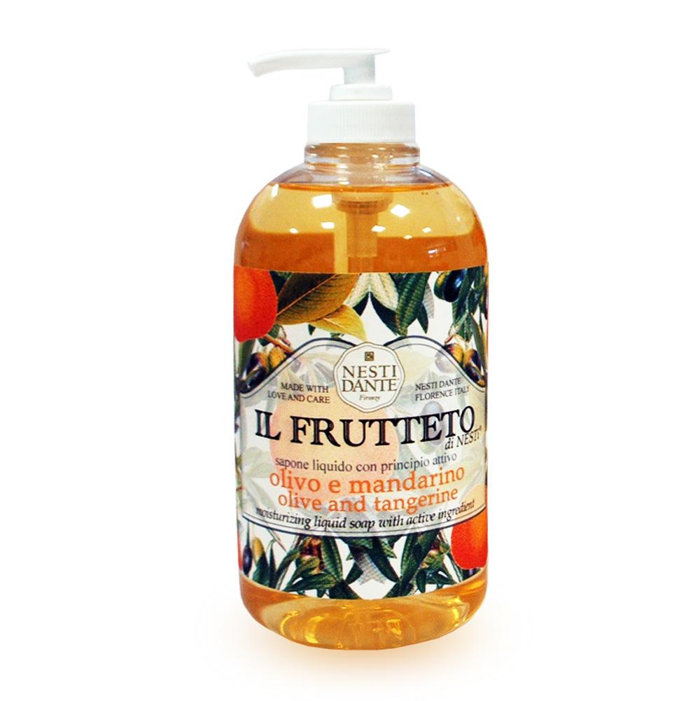 Olive oil & tangerine / Оливковое масло и мандарин жидкое мыло 500 мл