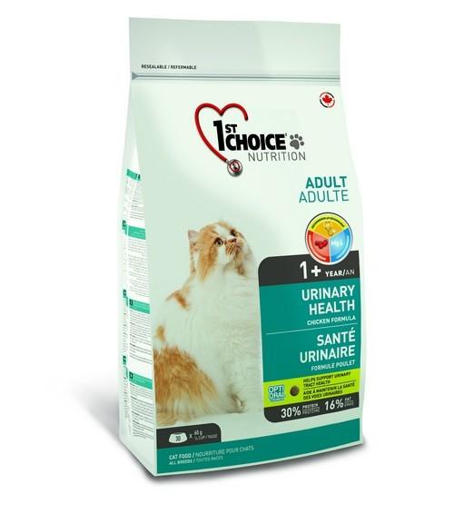 Сухой корм Корм для кошек, 1st Choice Urinary, с курицей МКБ.jpg