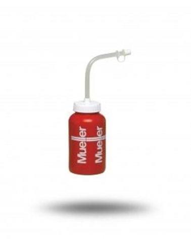 020538 Бутылка красная с соломинкой