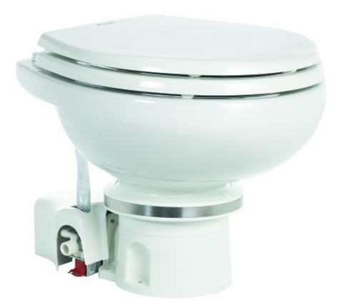 Туалет электрический с мацератором Dometic MasterFlush 7160 (24V)