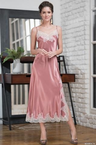 Длинная ночная сорочка Mia Amore Marilin Deluxe (70% шелк)