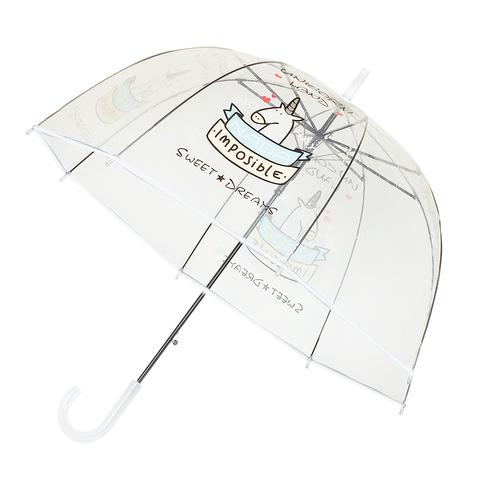Зонт-трость Unicorn White