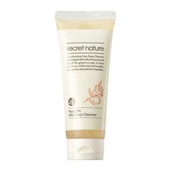 Secret Nature Peach Pit Mild Deep Cleanser - Пенка для умывания лица с экстрактом персиковых косточек