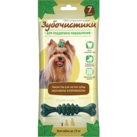 Деревенские лакомства Зубочистки мятные для собак мелких пород 60г