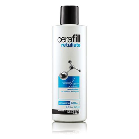 Redken Cerafill Retaliate Shampoo - Шампунь для поддержания плотности сильно истонченных волос