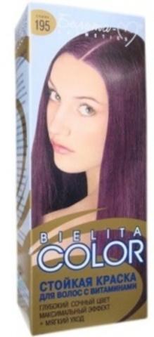 Белита-М Belita Color Краска для волос  №195 слива