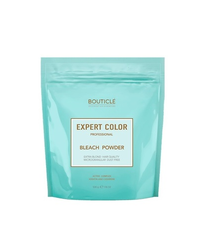 Обесцвечивающая пудра с кератином и кашемиром – «BOUTICLE Expert Color Powder Bleach»  500 гр