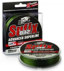 Плетёный шнур Sufix 832 Braid Green 135м 0.15 мм