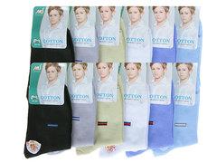 CE505 носки подростковые (35-40), цветные (12шт)