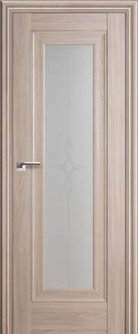 > Экошпон Profil Doors №24Х-Классика, стекло узор, цвет орех пекан, остекленная