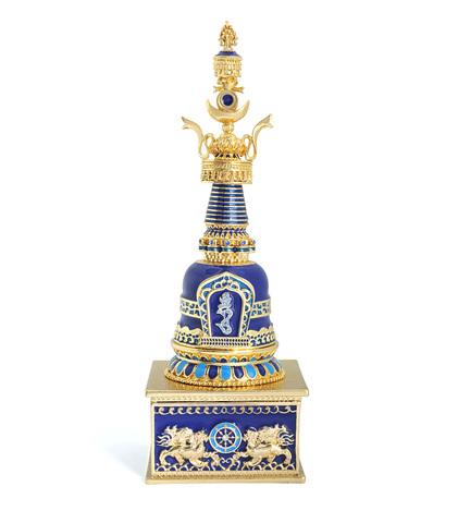 Сундук с сокровищами Дхарани (синий)
