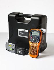 Профессиональный принтер для печати наклеек Brother PT-E100VP (ленты TZE от 3,5 до 12мм, до 20мм/сек, 180т/д, кейс+БП - PTE100VPR1)