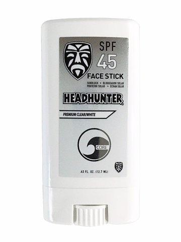 Крем-стик солнцезащитный для лица бесцветный Headhunter Face Stick SPF45 Clear 0.43oz/12mL