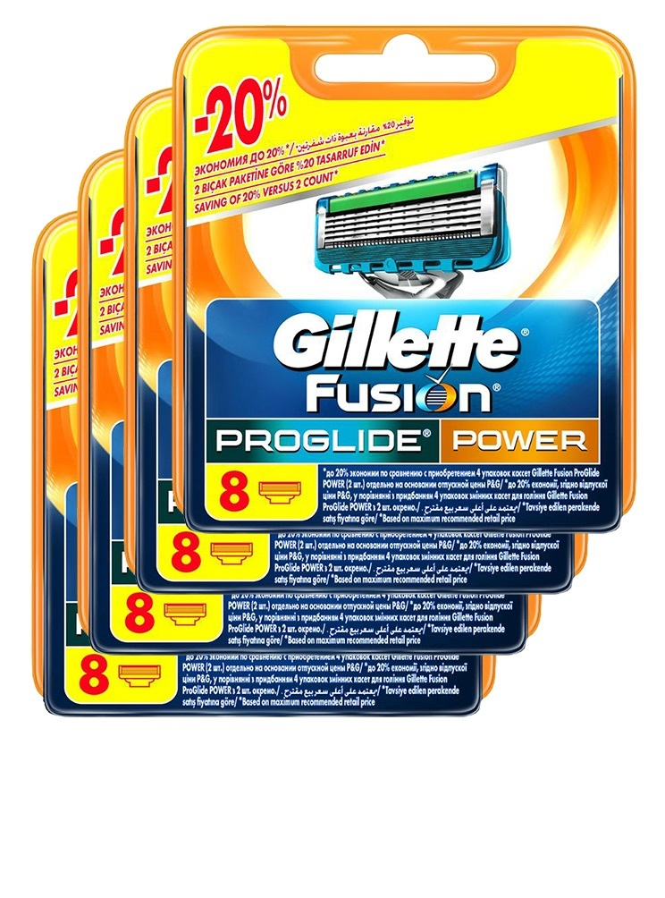 Proglide Power комплект (4х8) 32шт. (Цена за 1 пачку 1519р.)