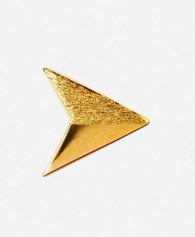 Моно-серьга Paperplane