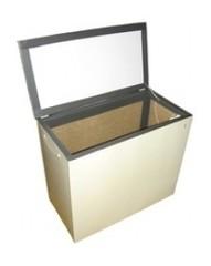 Термошкаф балконный Погребок-3 (200л) с принудительной вентиляцией
