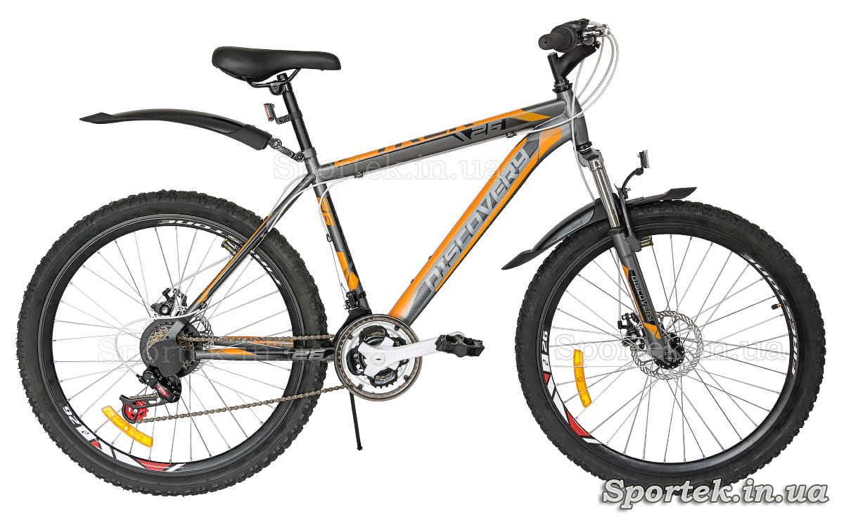 Гірський універсальний велосипед Discovery Trek DD (26