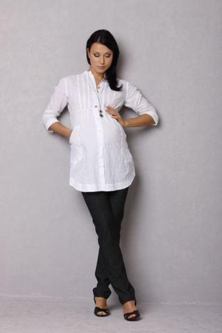 Блузка 01123 белый