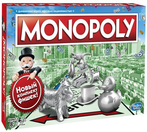 Monopoly Настольная игра Классическая монополия