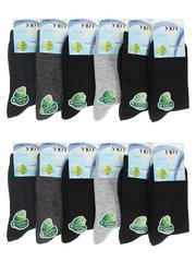 C9012 носки подростковые (36-41), цветные (12шт)