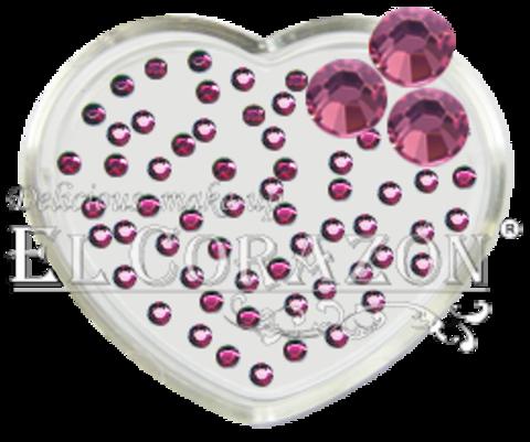 ЭК Стразы стеклянные 100шт/111  SS6-светлый розовый