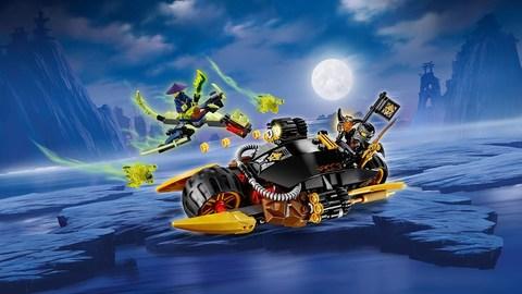 LEGO Ninjago: Бластер-байк Коула 70733 — Cole's Blaster Bike — Лего Ниндзяго