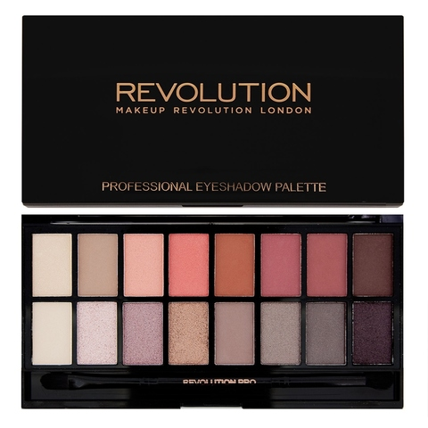 Палетка теней для век, Makeup Revolution Palette New-trals vs Neutrals (UK)