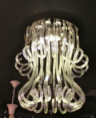 murano chandelier  12-02  by Arlecchino Arts ( HK)