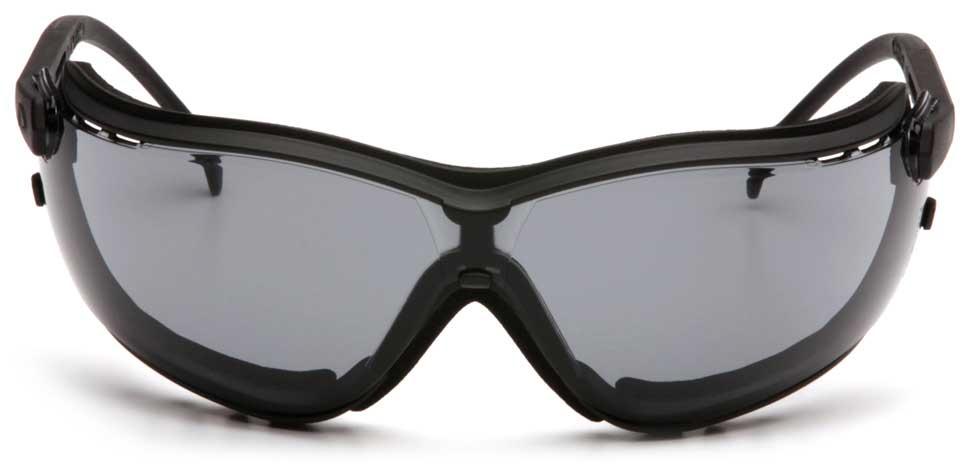 Очки баллистические тактические Pyramex V2G GB1820ST Anti-fog Diopter серые 23%