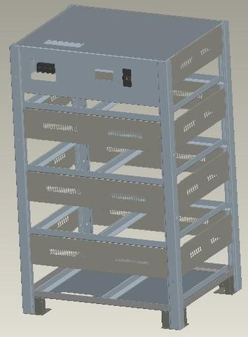 Шкафы для аккумуляторных батарей Gewald Electric B32 - фото 1