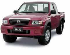 Защита передних фар позрачная Mazda B-SERIES 2002- (223030)