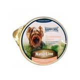 Happy Dog NatureLine Консервы для собак нежный паштет Ягненок с Рисом 16x85 г. (71489/71498)