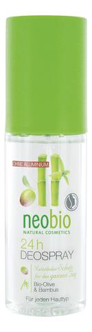 Deodorant Spray /дезодорант спрей 24 часа с био-оливой и бамбуком 100 мл (Neobio)