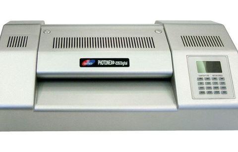 Пакетный ламинатор GMP Photonex 235 Digital. Формат А4. Горячие валы.
