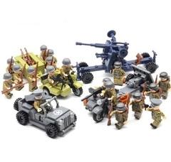 Минифигурки Военных с техникой серия 345