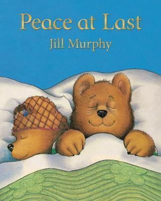 Kitab Peace at Last   Jill Murphy